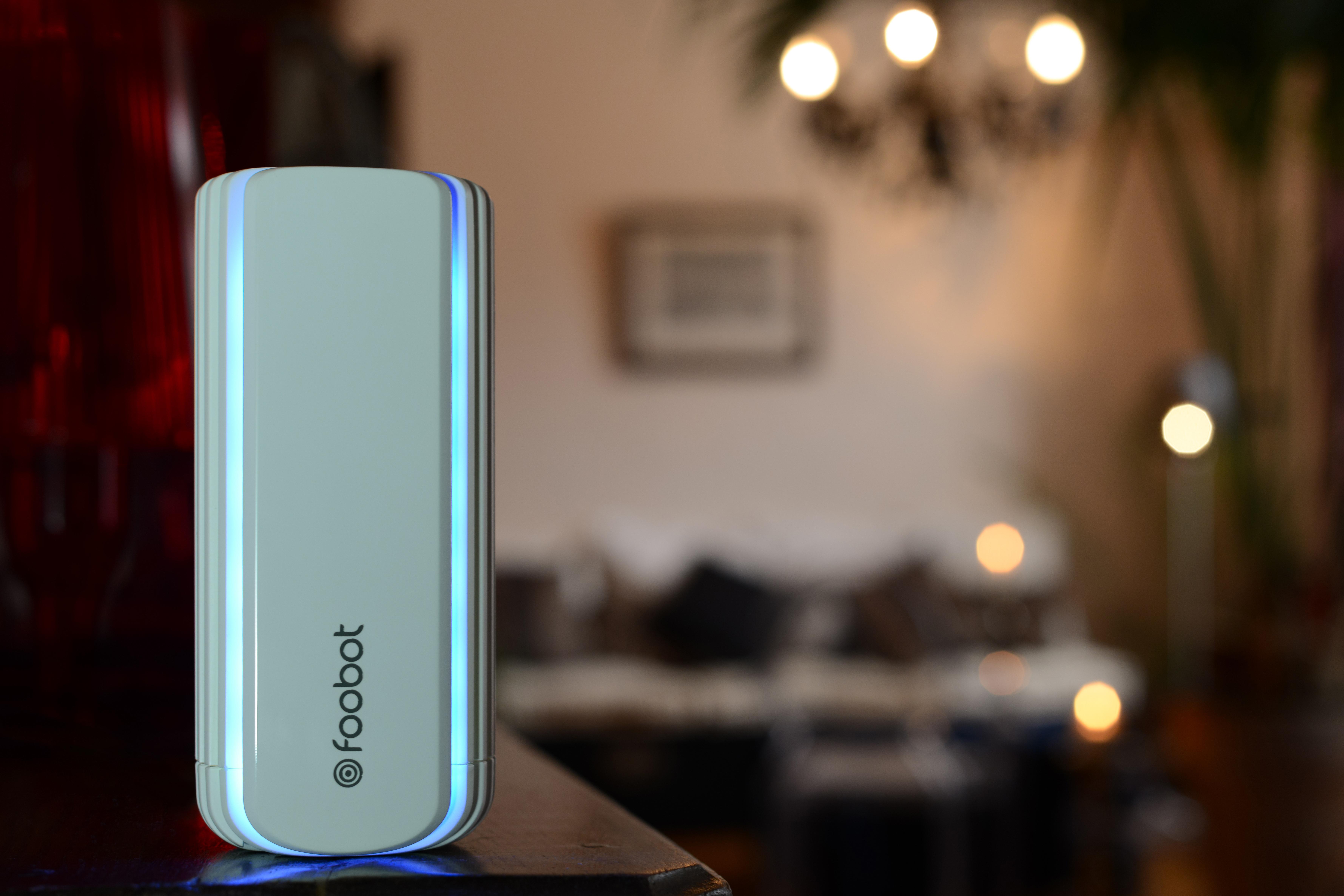 foobot l analyseur d air connect mon papa est un geek. Black Bedroom Furniture Sets. Home Design Ideas