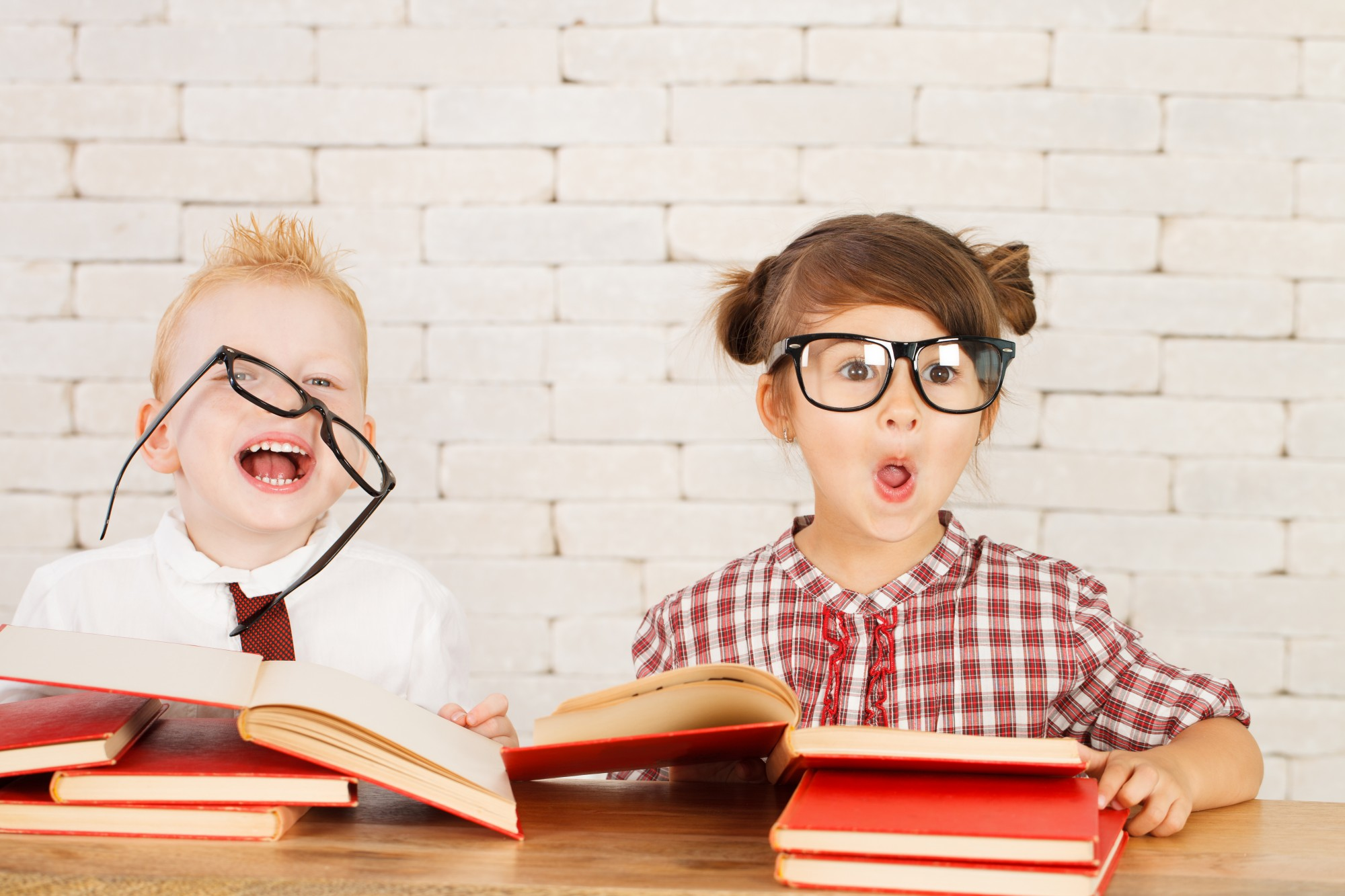Children nerds